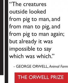 Animal Farm Quotes Amazing Animal Farmgeorge Orwell  Quotes  Pinterest  Animal Farm George