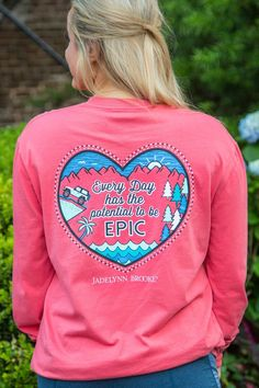 Jadelynn Brooke Everyday Can Be Epic Long Sleeve Tee - The Pink Lily