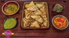 """Enjoyed making this menu for Rani Flatbreads 
