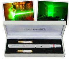 Yeşil Lazer Pointer (10 Km. Etki Alanı)