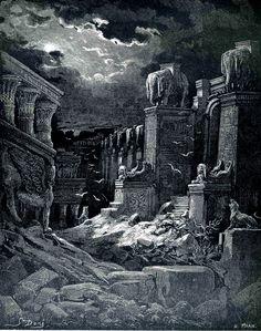 DORÉ, Gustave (1832-1883)  Babylon Fallen    http://40.media.tumblr.com/1c59e04789d47ad534b05bd09c985cf4/tumblr_nw76lgPEkD1tkwhs9o1_1280.jpg