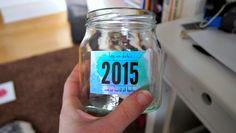 DIY Memory Jar on aseaofinspiration.blogspot.dk
