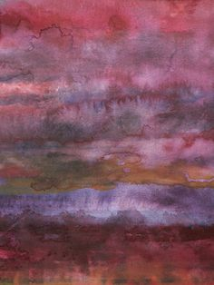 "Saatchi Online Artist: Koen Lybaert; Watercolor, 2013, Painting ""ambient N°0008"""
