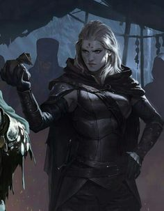 Female Rogue - Pathfinder PFRPG DND D&D d20 fantasy