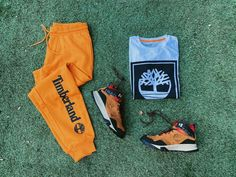 """Cool Js Miami on Instagram: """"Now available #CoolJs @Timberland #Timberland #Apparel #LogoTee #Sweatpants #GarrisonTrail"""""""