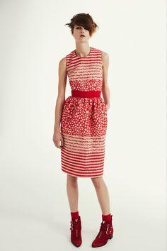 Printed dress by Preen.