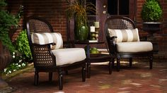 Snapshot of Inspiration | Thomasville Southpointe Patio Seating Collection | The Home Depot Blog