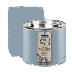 GAMMA Wood&Wall krijtverf Blurry Blue 500 ml