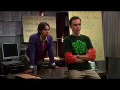 the Big Bang Theory 03x04 - Sheldon and Raj work hard! (HQ) - YouTube. The sound and picture are off half way through . . . but I haven't found a better version yet.