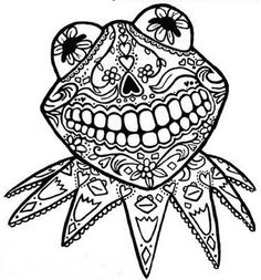 Day of the Dead Coloring and Craft Activities