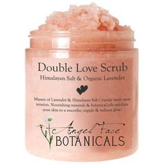 Double Love Body Scrub with Himalayan Salt & Organic Lavender