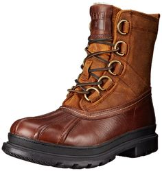 FRYE Men's Riley D-Ring Lace Rain Boot * Don't get left behind, see this great boots : Men's boots