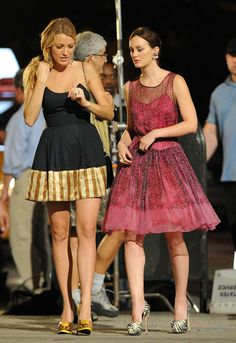 Gossip girl fashion final season :) love blairs dress!