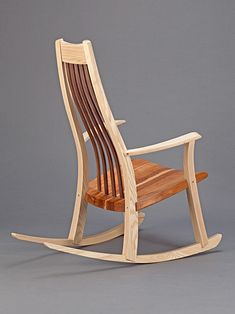 Mark Ripley, bespoke rocking chair makers in Basingstoke. Mark has been designing and making rocking chairs in Basingstoke for over twenty years. Rustic Rocking Chairs, Rocking Chair Plans, Rocking Chair Porch, Diy Furniture Chair, Diy Chair, Furniture Design, Furniture Ideas, Traditional Chairs, Inexpensive Furniture