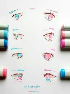 Amazing Learn To Draw Eyes Ideas. Astounding Learn To Draw Eyes Ideas. Beautiful Drawings, Cool Drawings, Poses References, Eye Tutorial, Anime Eyes, Eye Art, Deviantart, Copics, Love At First Sight