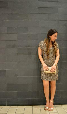 Stylist LA Sequin Parker Dress  - Ciera Chang from WorldWideStylista attends the USC FIA Fashion Show