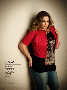 Fluvia Lacerdo, love her and her style. Look Plus Size, Curvy Plus Size, Plus Size Women, Xl Models, Curvy Models, Basic Style, My Style, Curvy Fashion, Plus Size Fashion