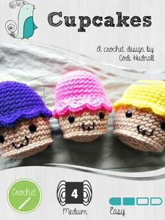 Looking for your next project? You're going to love Amigurumi: The Cupcake by designer Codi Hudnall. - via @Craftsy