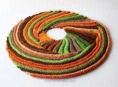 écharpe tricotée, Baktus tricoté, brise-lames Baktus, Frangiflutti