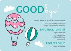 Captivating Party: Farewell Party Invitation Make Your Astounding Party Invitations  Much More Awesome 6