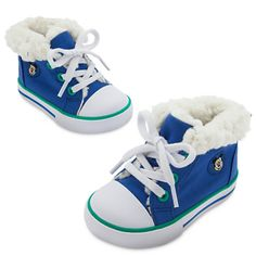 Mickey Mouse Hi-Top Canvas Sneakers for Baby