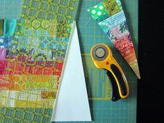 a Wheel Quilt spoke by StitchedInColor, via Flickr