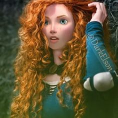 Older Merida♥ This is pretty good!<-- this seems to combine a live photograph and CGI Merida, very cool! Disney Animation, Disney Pixar, Walt Disney, Disney And Dreamworks, Disney Magic, Disney Art, Disney Movies, Disney Characters, Brave Disney