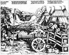 16th century artillery of possible german make (judging by the clothing). 1520s