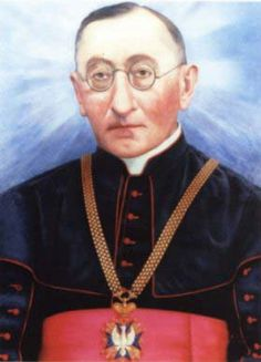 Blessed Antoni Rewera - Priest and theology teacher in Sandomierz, Poland. Founded the Daughters of the Seraphic Saint Francis. Arrested by the Gestapo, thrown into the Dachau concretration camp, and tortured to death in the Nazi persecutions of Catholics.