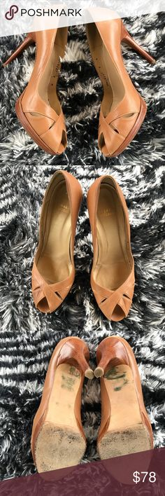Stuart Weitzman Nude Heels In great condition Stuart Weitzman Shoes Heels