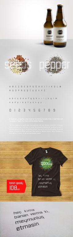 Azerbaijan all letter  Goody typeface