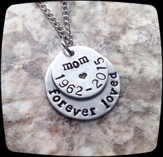 Remembrance Jewelry, Memorial Necklace, Forever Loved, Mom-Dad-Husband-Daughter-Son-Brother-Sister-Loss of loved one, Sympathy Gift