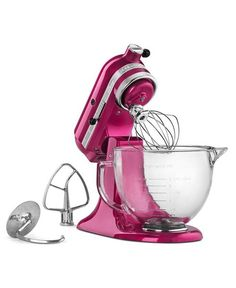 hot pink KitchenAid
