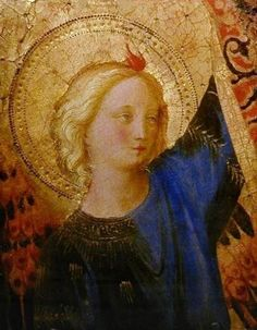 Head of an Angel, 1445-1450 | Fra Angelico, Angel and Art Work