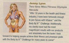 Jenny Lynn says it all!
