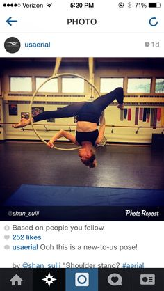 Shoulder stand pose--alternative to planche for Ordinary Love routine?