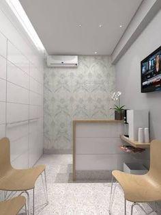 New medical treatment room small spaces 47 ideas Clinic Interior Design, Design Salon, Clinic Design, Dental Office Decor, Medical Office Design, Office Furniture Design, Home Office Design, Small Rooms, Small Spaces