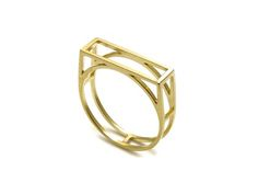 mute object // gold ring no.18