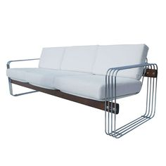 Beautiful Three-Seater Sofa by Stendig | From a unique collection of antique and modern sofas at https://www.1stdibs.com/furniture/seating/sofas/