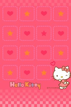 iPhone 4 Wallpaper Hello Kitty Shelf