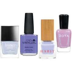 Spring Has Sprung! Lacquer Up in the Season's Prettiest Nail Trends - Shy Violets  - from InStyle.com