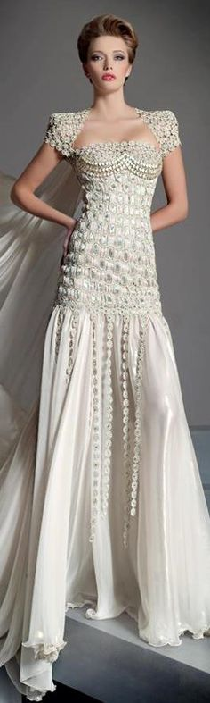 Brides Gowns Handfastings Weddings:  #Bridal #gown, Blanka Matragi.