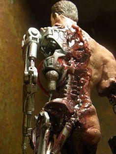 Battle Damage Terminator (Terminator) Custom Action Figure