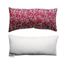 """Coussin Liberty """"Wiltshire Rouge"""""""