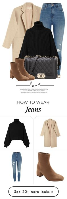 """20:36"" by monmondefou on Polyvore featuring Mara Hoffman, River Island and Diesel"