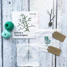 I've loved stitching my trees and being part of such an amazing project. I'm popping them in the post to join the Forrest - more details at…