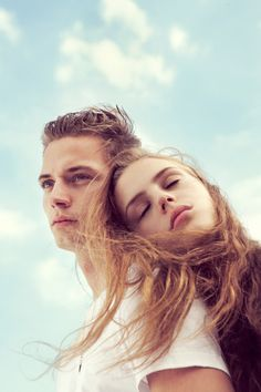 Benjamin Alexander Huseby captures the beautifully radiant images of Closed's spring summer 2013 advertisement with models Esther Heesch and Linus Gustin. Couple Posing, Couple Portraits, Couple Shoot, Photoshop, Couple Photography, Portrait Photography, Photo Hacks, Couples Modeling, Photo Couple