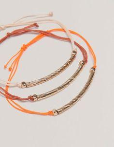 Lot bracelets fil   #Bijoux #summer