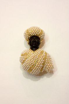Moretto gigante con perlas