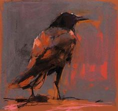 Sunset Raven by Dawn Emerson